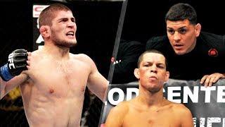 Khabib Nurmagomedov vs Nate Diaz UFC 2019