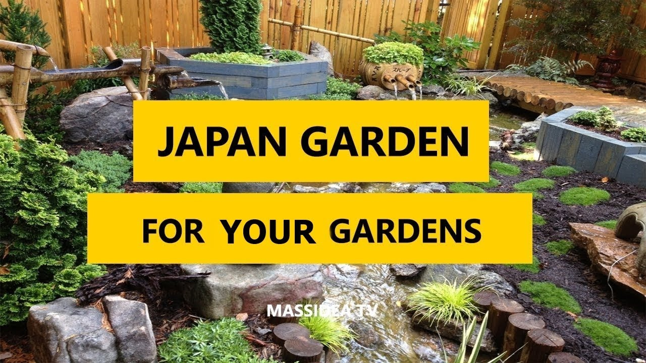 45+ Best Japanese Garden Design Ideas for Small Gardens 2018 - YouTube