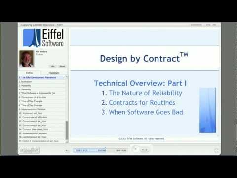 Design by Contract part 1