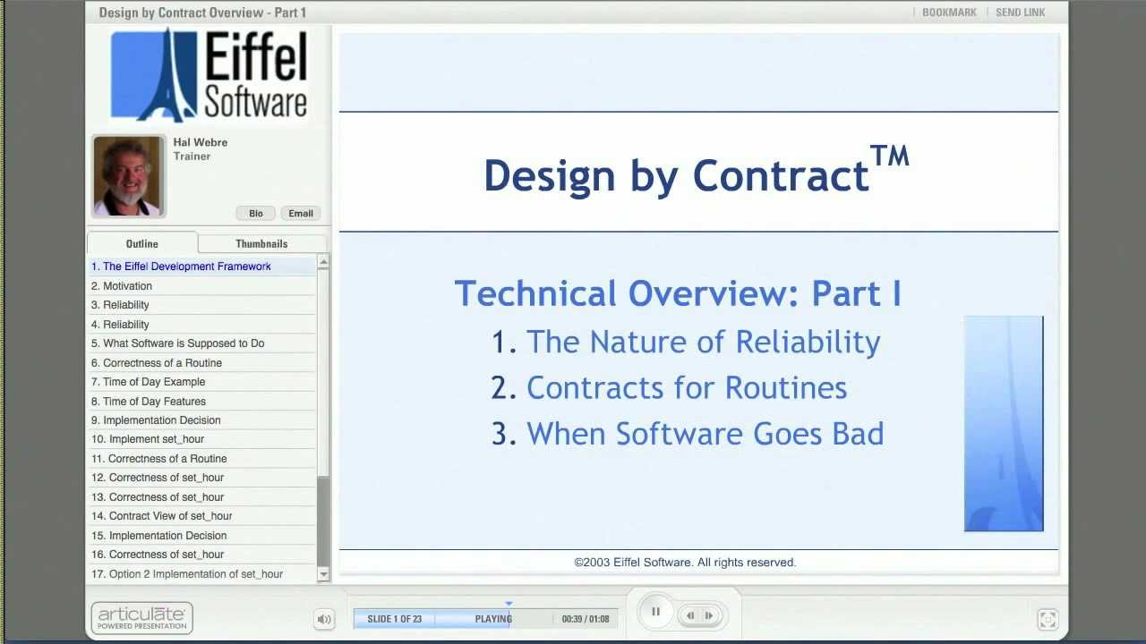 Design By Contract Part 1 Youtube