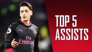 Who created our best assist in 2017?