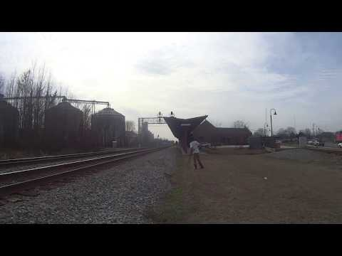 [[MUST WATCH]] RARE EMD LEADERS FAST TRAINS AND MUCH MORE IN SELMA, NC !!!!