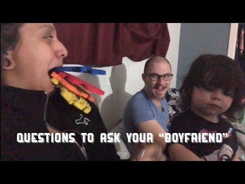 dating questions to ask boyfriend