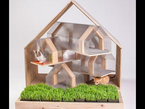 Домик, когтеточка для кошки своими руками (фото, мастер-класс, чертежи). В этой статье вы найдете когтеточки и домики для кошек, которые можно купить или же сделать своими руками. Купить комплекс для кошек