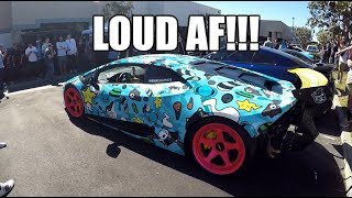 In this video we head to a local supercar meet with some friends. T...