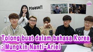 Download lagu Reaksi orang Korea mendengarkan