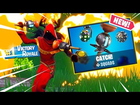 *FORTNITE CATCH LTM* 100 Players using Granades ONLY | Fortnite CATCH Gamemode