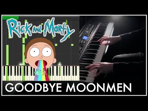 Rick And Morty - Goodbye Moonmen (Synthesia Tutorial)