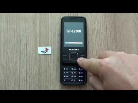 Samsung E2600 dekodiranje pomoću koda