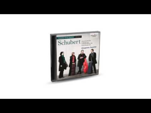 SCHUBERT - COMPLETE STRING QUARTETS, VOL. 3 1CD Brilliant Classics (artikel 94463)