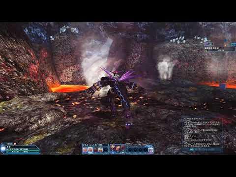 Phantasy Star Online 2 アムドゥVHラストDBで