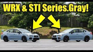 The NEW 2019 Subaru WRX & STI Series.Gray