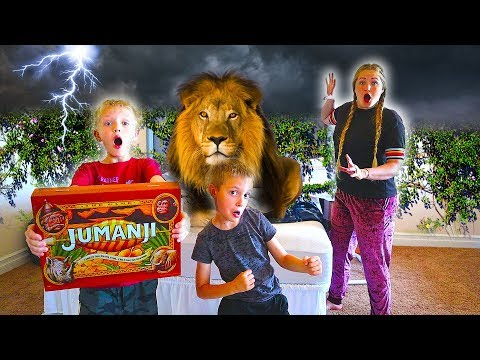 Playing Jumanji In Real Life! / The Beach House