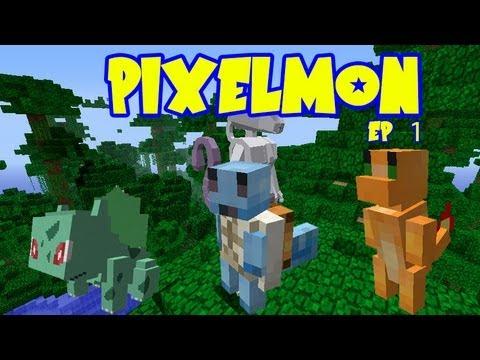 Pixelmon bulbasaur squirtle or charmander pokemon - Pixelmon ep 1 charmander ...