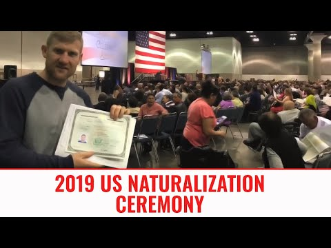 US Citizen Ceremony March 2017 | I'm now an AMERICAN