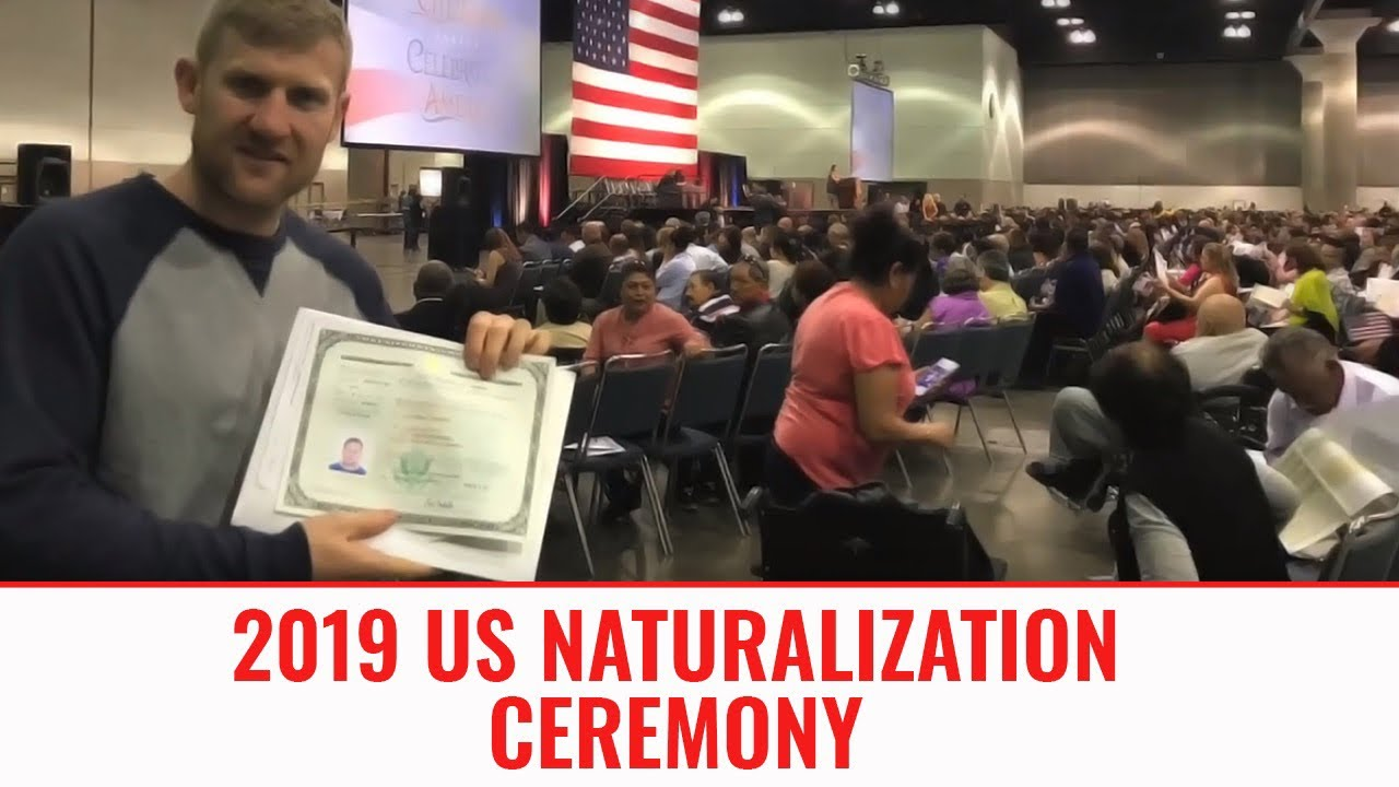 US Citizen Ceremony January 2019 | I'm now an AMERICAN