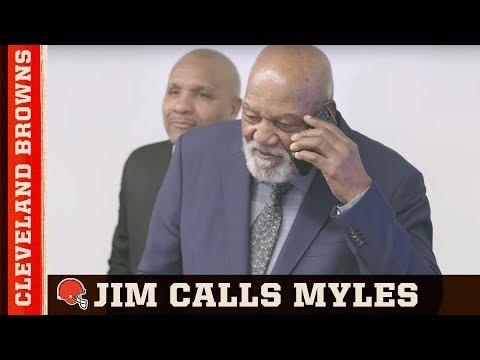 EXCLUSIVE: Jim Brown calls Myles Garrett