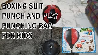 Boxing Suit Punch and Play Punching Bag for Kids
