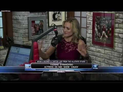 Yvonne Strahovski: WFAN's Boomer & Carton On MSG - Jan 10th 2012