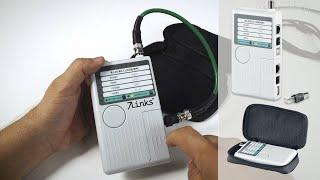 TESTEUR DE CABLES 4 EN 1 - USB - RJ45 - RJ11 - BNC
