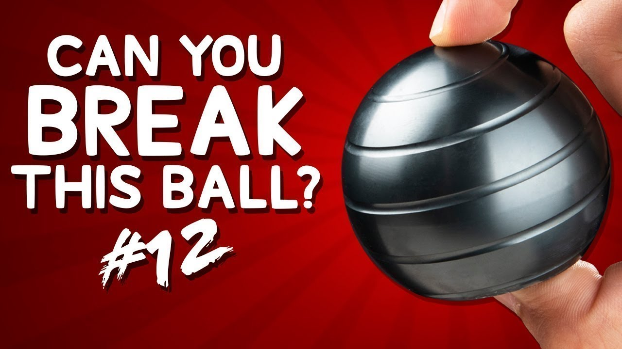 Download $1000 if You Can Break This Ball in 1 Minute