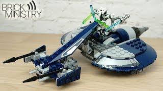 [Обзор] LEGO 75199 Star Wars ● Спидер генерала Гривуса