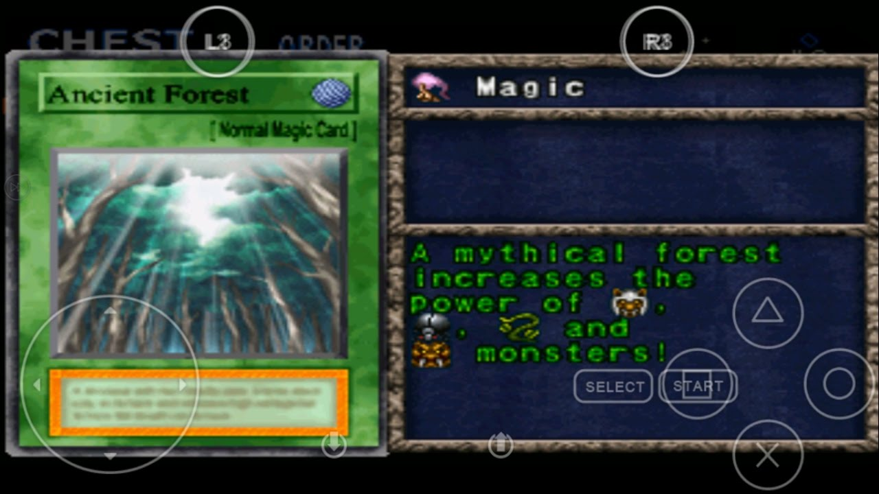 Monoceros + valerifawn, mystical beast of the forest + thunder unicorn. Yu Gi Oh Forbidden Memories 2 Ultimate Magic Ancient Forest Youtube