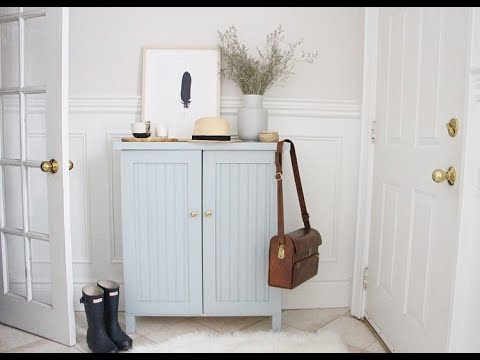 Ikea ivar cabinet makeover youtube for Ikea scaffali ivar