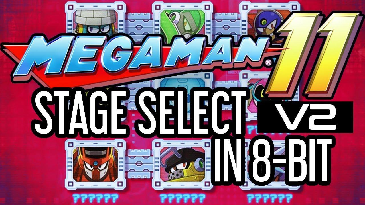 Mega Man 11 - Stage Select theme in 8-bit (V2 Definitive)