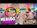 MENUDO COMBO mas RARO!! | Clash Royale | Rubinho vlc