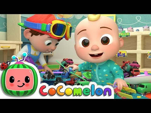 Clean Up Song | ABCkidTV Nursery Rhymes & Kids Songs