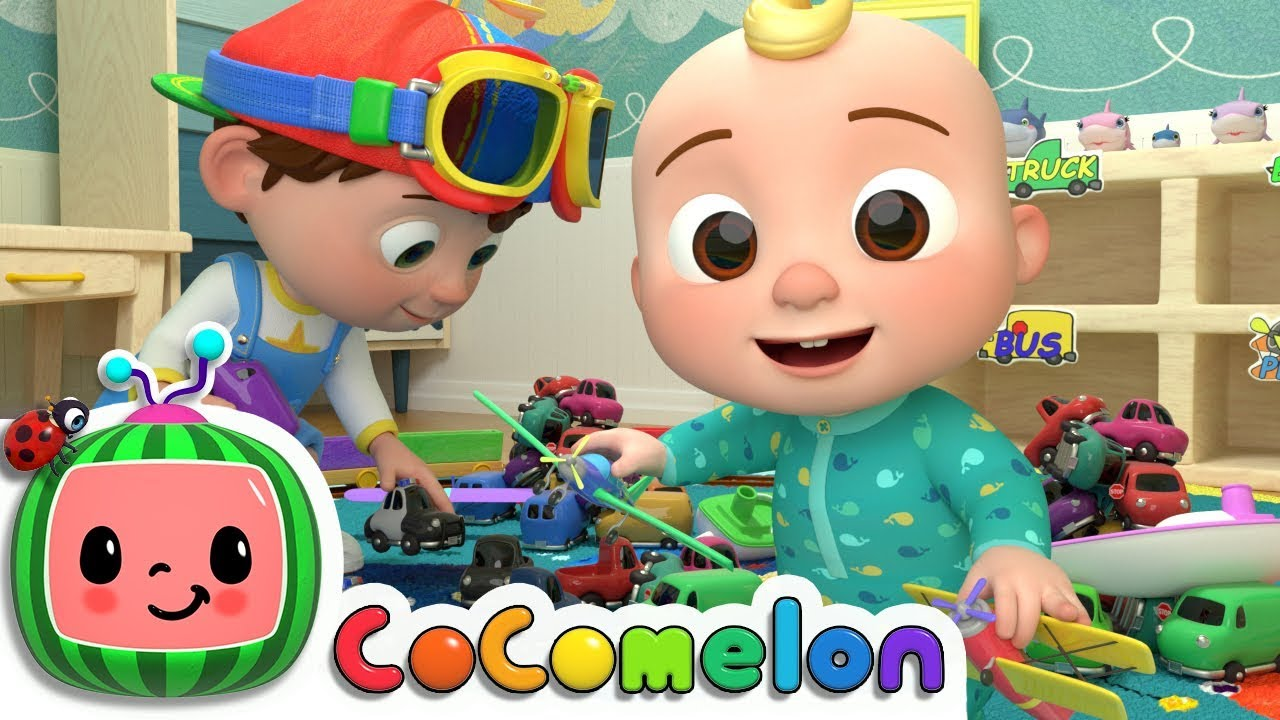 Clean Up Song Cocomelon Nursery Rhymes Kids Songs