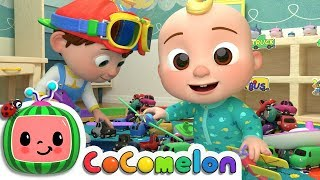 Clean Up Song | CoComelon Nursery Rhymes & Kids Songs