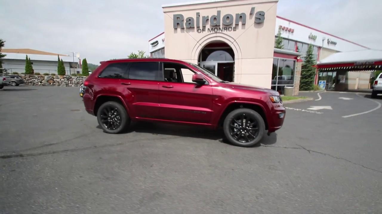 2017 jeep grand cherokee altitude velvet red hc905613 everett snohomish youtube. Black Bedroom Furniture Sets. Home Design Ideas