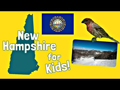 New Hampshire for Kids | US States Learning Video