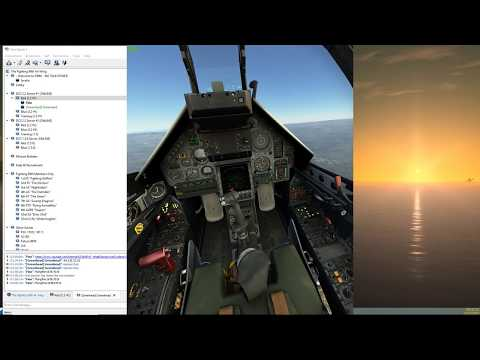 DCS Mirage only a2a beautiful engagement at 2:02 and 10:38