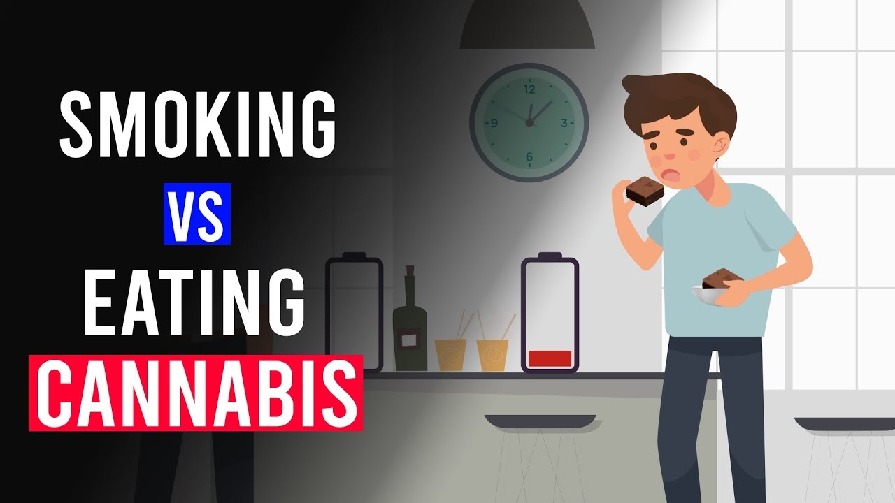 Smoking Vs Eating CANNABIS: Whats the difference?