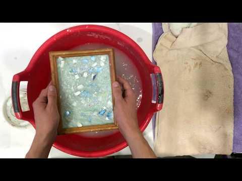 Как сделать крафтовую бумагу или переработка бумаги дома