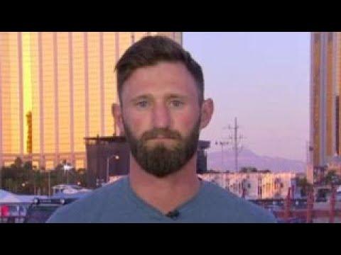Marine vet stole truck, drove Las Vegas victims to hospital