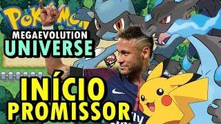 Pokemon Universe (Hack Rom - GBA) - O Início (Mega Evolução)