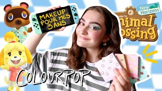 JE TESTE LE MAKEUP ANIMAL CROSSING