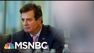 Subpoena Issued Regarding Donald Trump Associate Paul Manafort (Exclusive) | Rachel Maddow | MSNBC