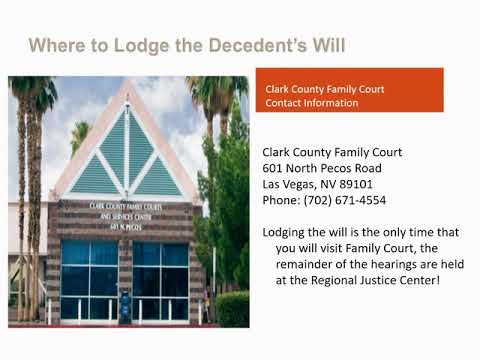 Probate Of Small Estates Valued At Less Than $100,000
