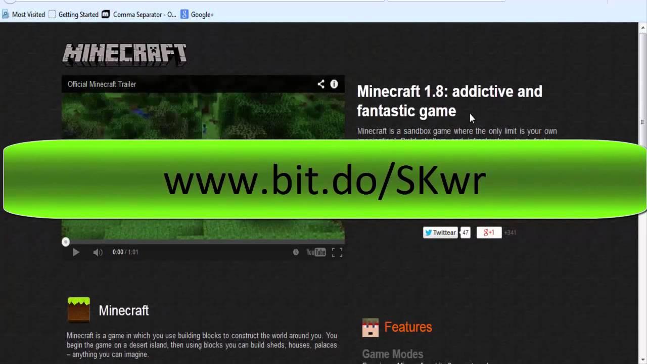 telecharger minecraft pc gratuit complet