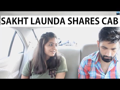 When Sakht launda shares a cab with a hot girl | Idiotic Sperm Ft Rahul Sehrawat