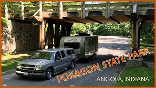Pokagon State Park Indiana|Campground Review|Rockwood Mİni Lite
