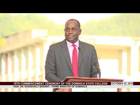 16th Commencement Ceremony of the Dominica State College