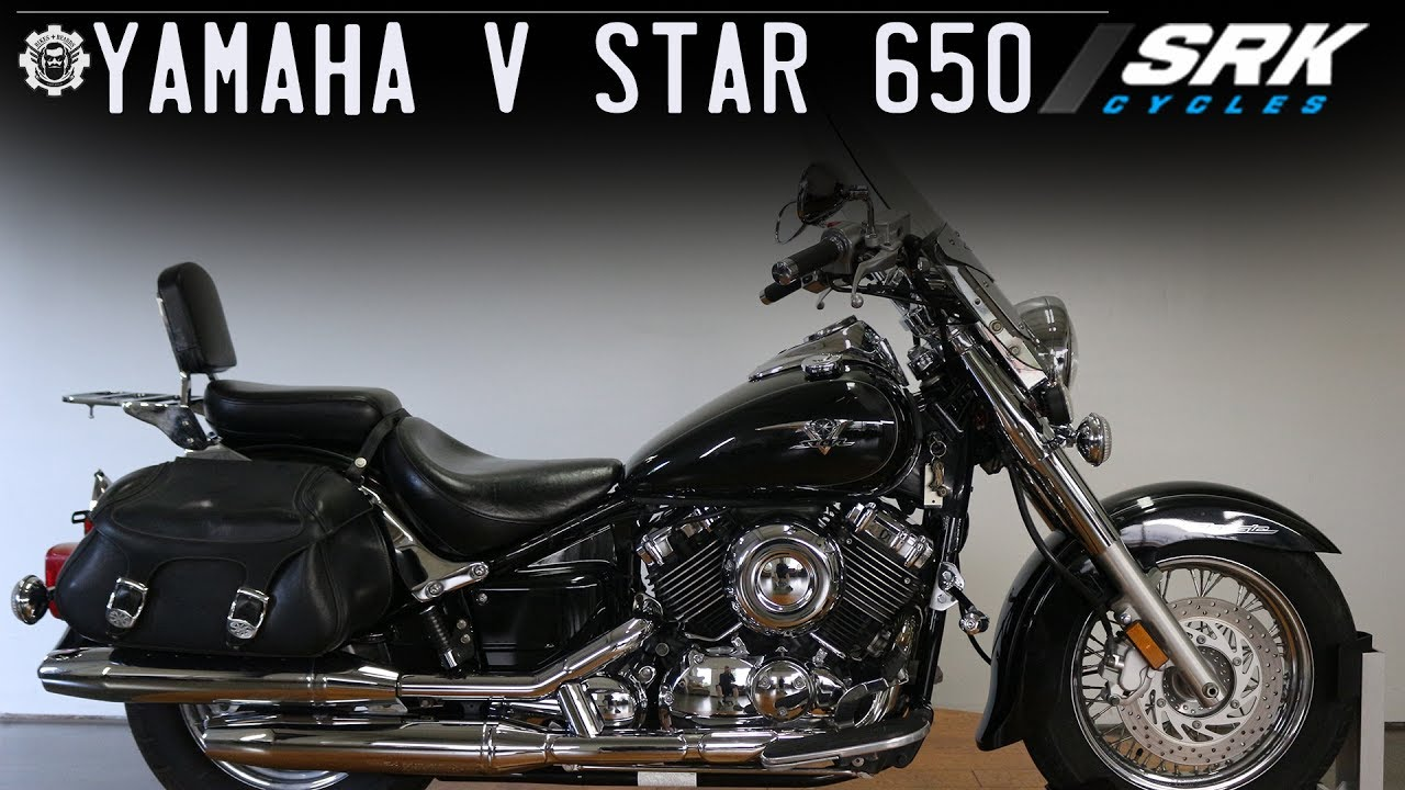 Yamaha V Star 650(perfect beginner bike)