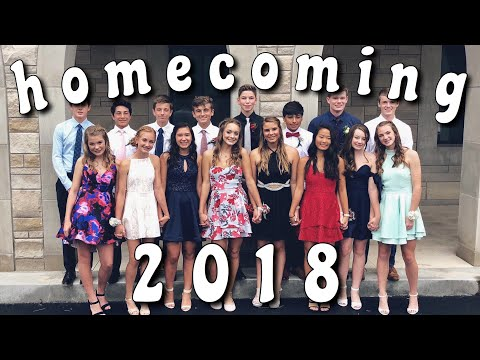 HOMECOMING GRWM & VLOG | 2018 thumbnail