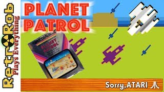 Sorry, Atari #26: Planet Patrol is Defender On Rails